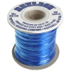 Vinyl Lacing Flat 100yds Trans Blue